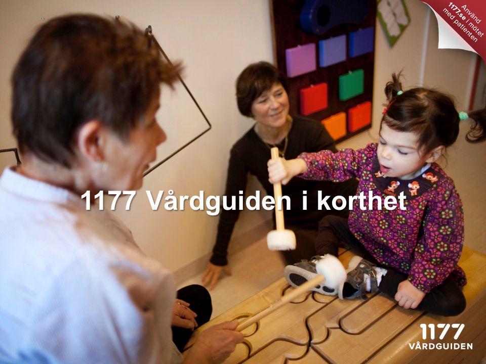 1177 Vårdguiden i korthet