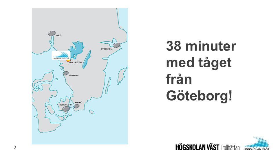 38 minuter med tåget från Göteborg! 3