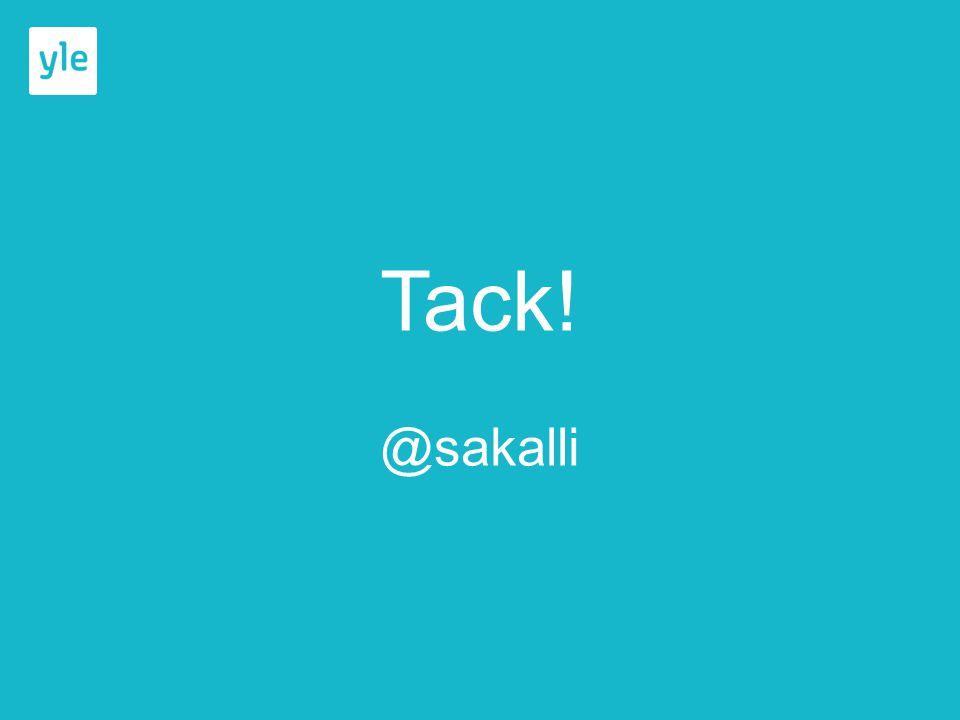 Tack! @sakalli