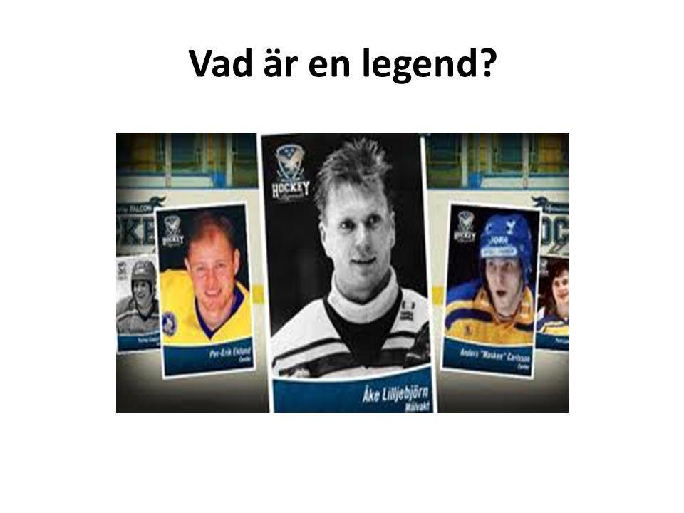 Vad är en legend?