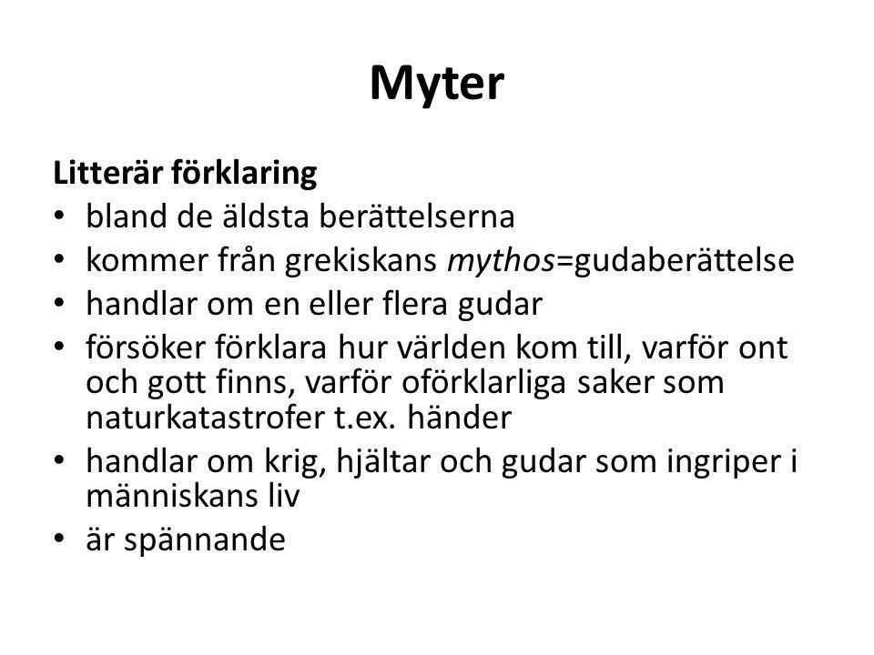Vad kännetecknar en sägen.Liknar en saga Ofta kortare Mystiska varelser t.ex.