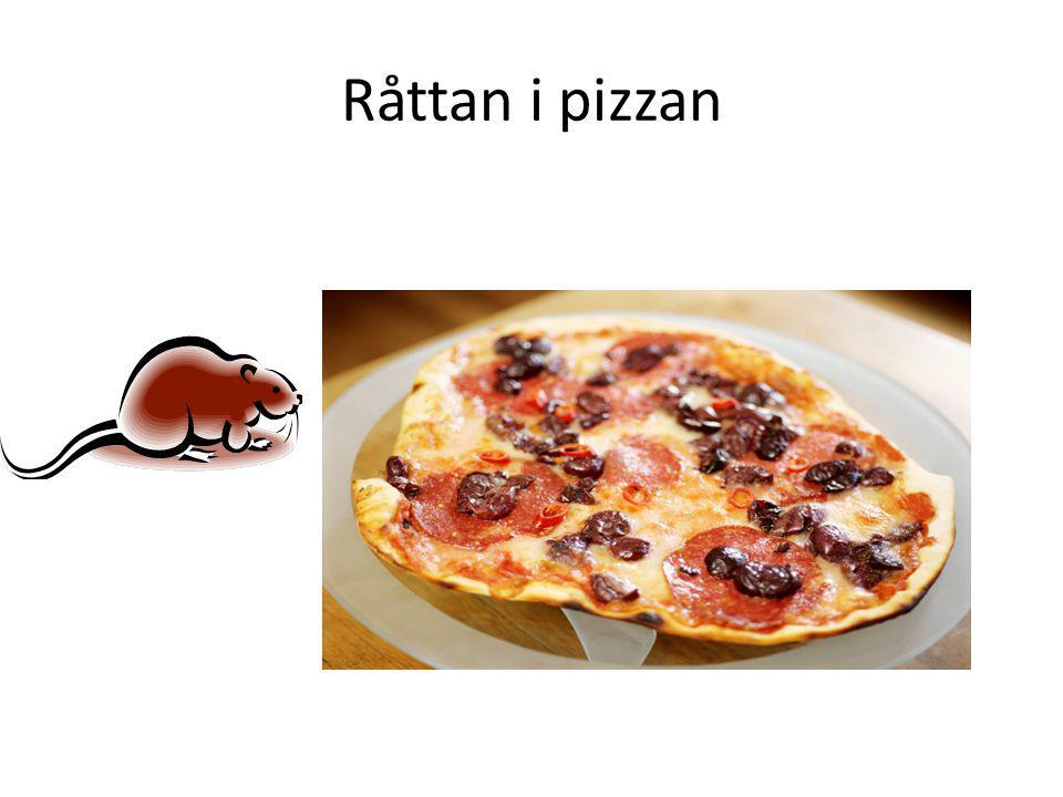 Råttan i pizzan