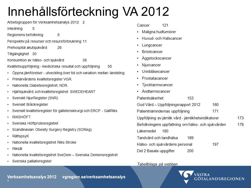 Tabell F-1 Kontaktgrad (läkarbesök) för olika vårdformer per hälso- och sjukvårdsnämndsområde 2012.