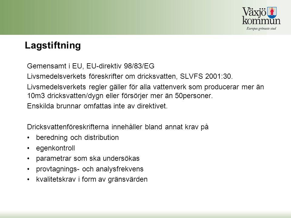 Var femte år anordnar branschorganisationen Svenskt Vatten en tävling för att utse landets godaste kranvatten.