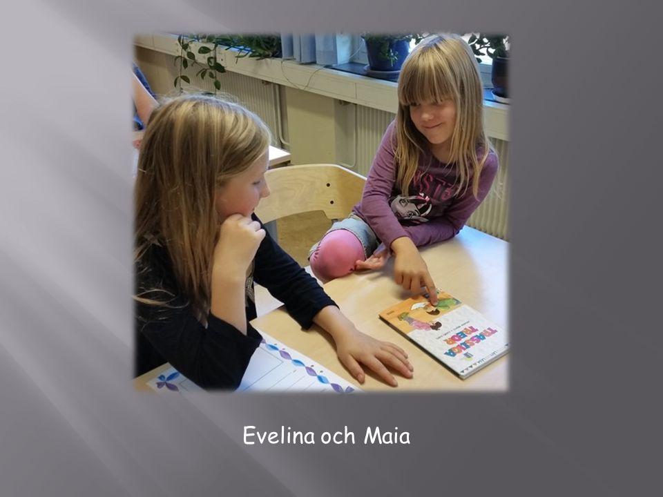 Evelina och Maia