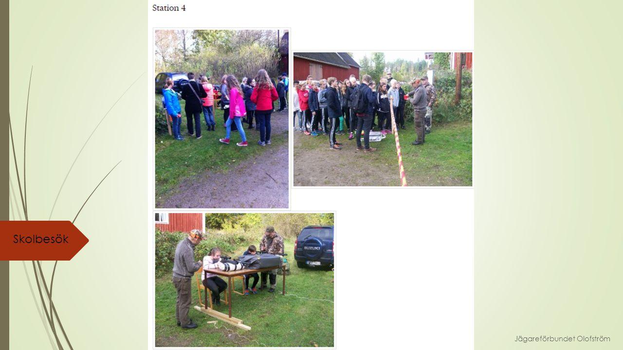Jägareförbundet Olofström Skolbesök