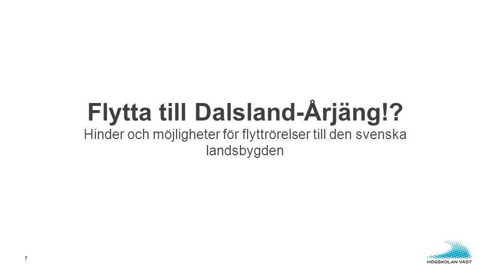 Flytta till Dalsland-Årjäng!.