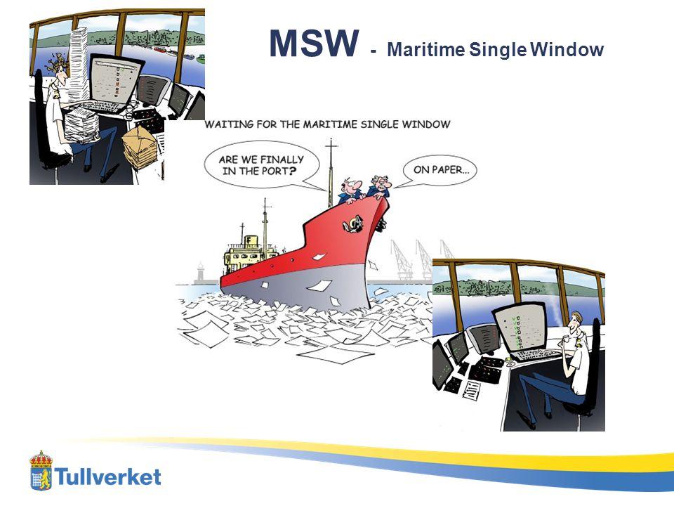 MSW - Maritime Single Window