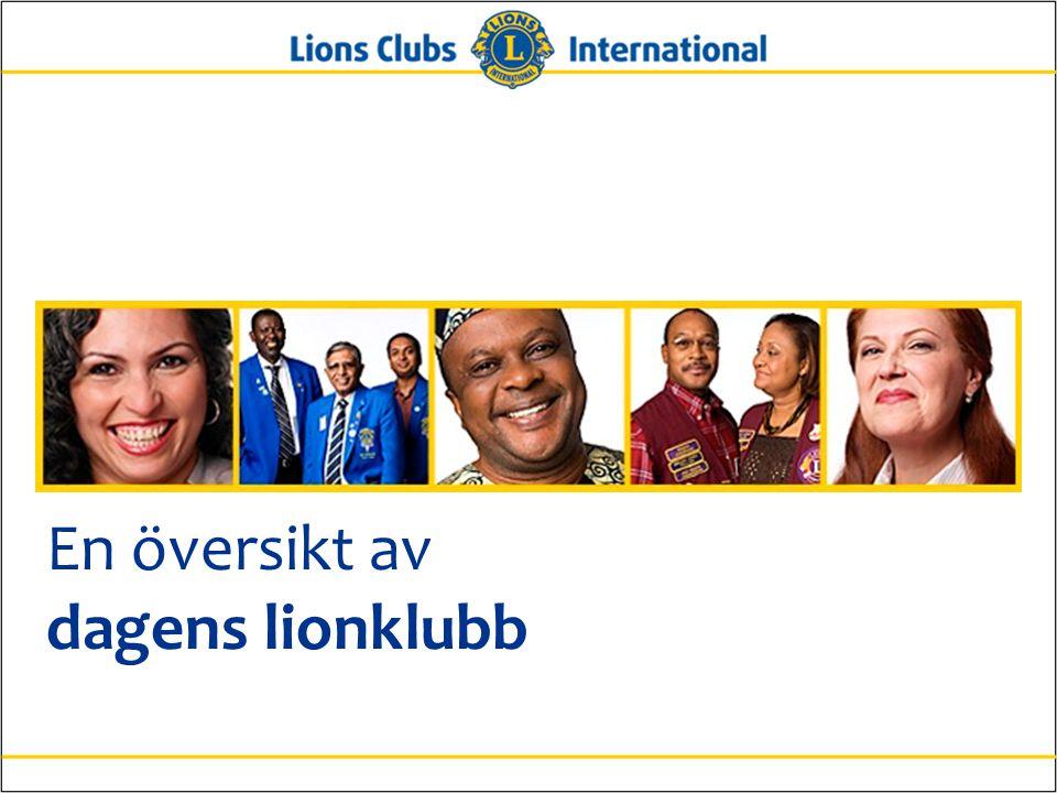 En översikt av dagens lionklubb