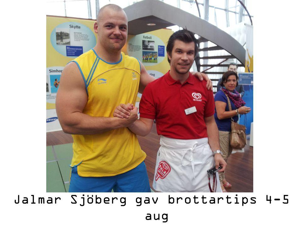 Jalmar Sjöberg gav brottartips 4-5 aug