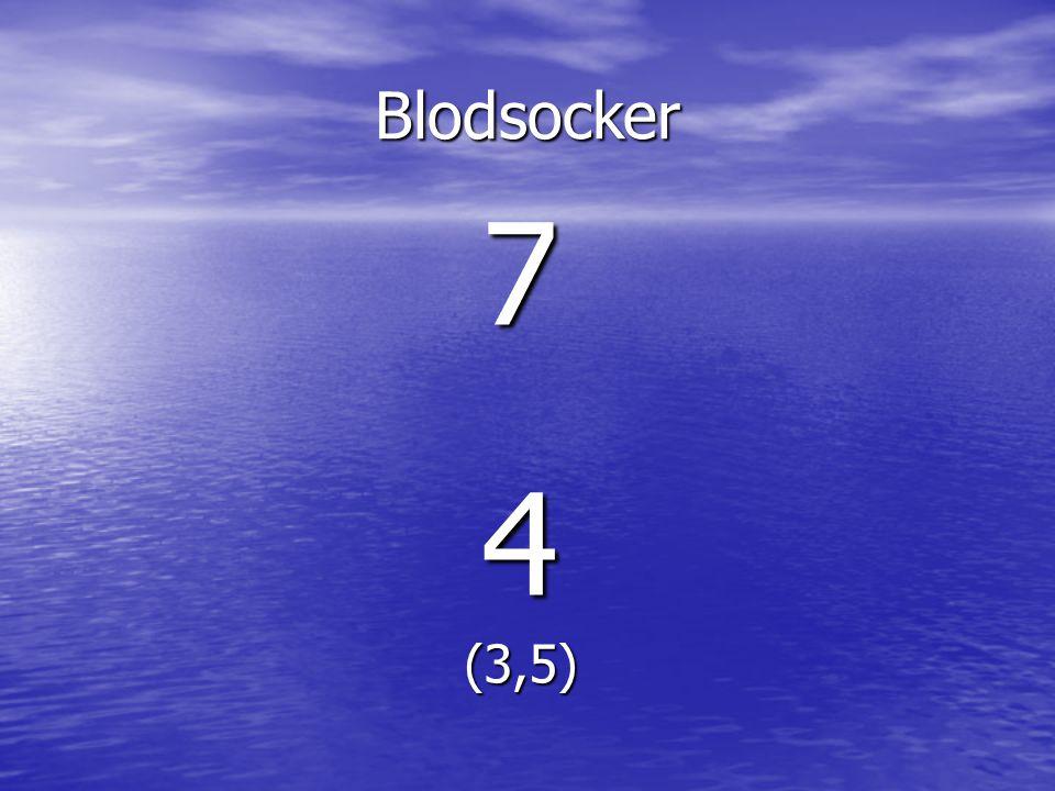 Blodsocker 74(3,5)