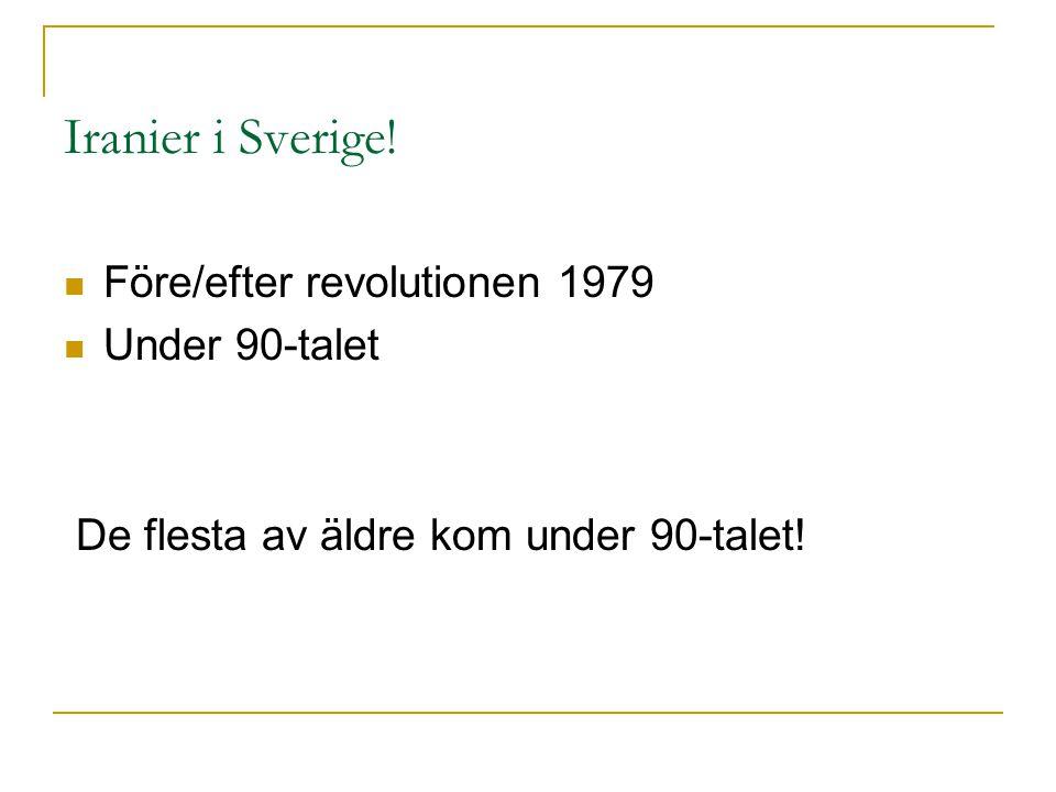 Iranier i Sverige.