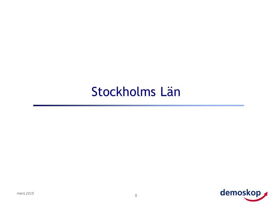 mars 2015 8 Stockholms Län