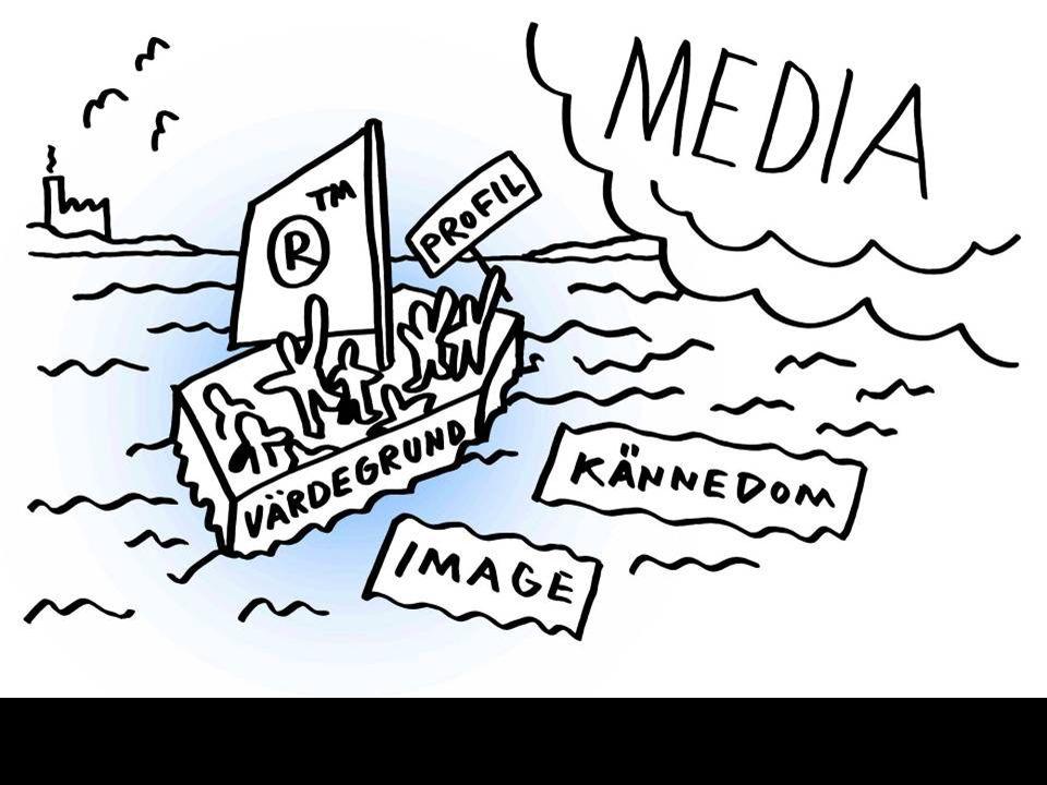 Modernt varumärkesarbete sker ofta på medias villkor