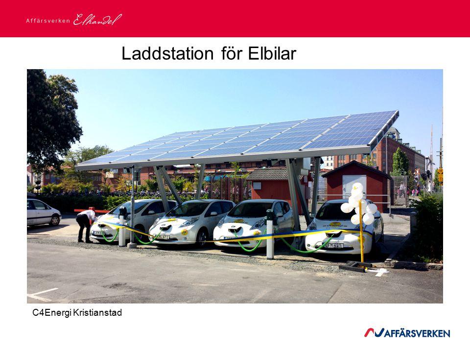 2015-03-21 Laddstation för Elbilar C4Energi Kristianstad