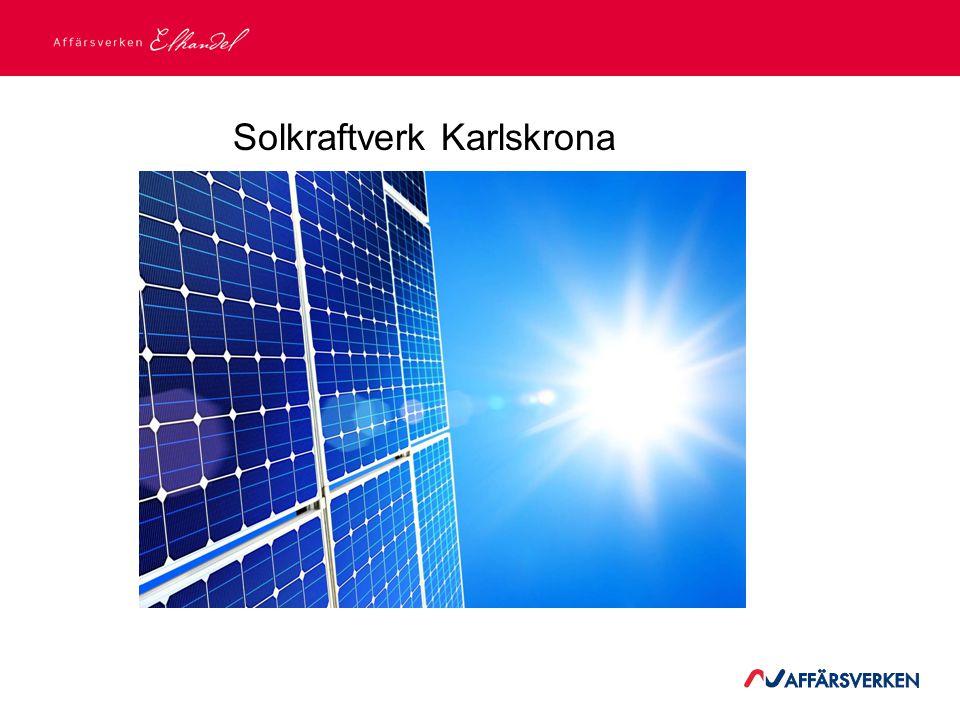 Solkraftverk Karlskrona