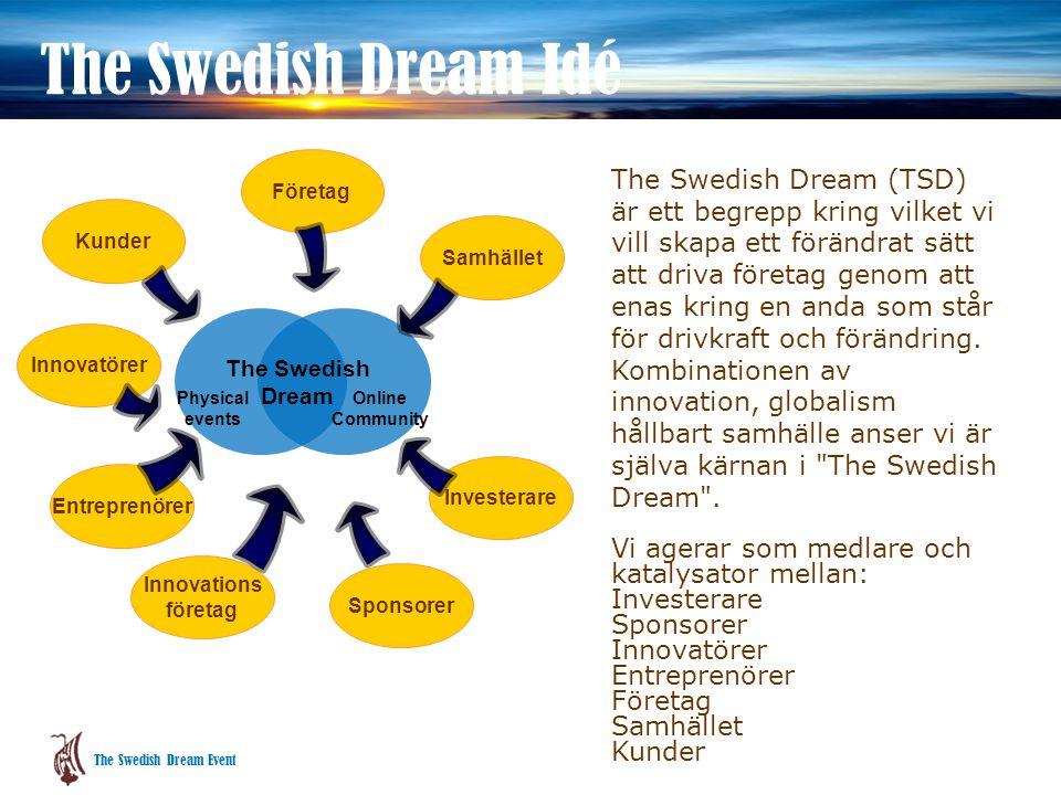 Blicken framåt TSD syftar till att förmedla inspiration, handlingskraft och visioner för framtidens företagande och samhälle i Sverige, hur svenska företagare kan verka och vinna i det nya affärsklimatet nu och i framtiden.