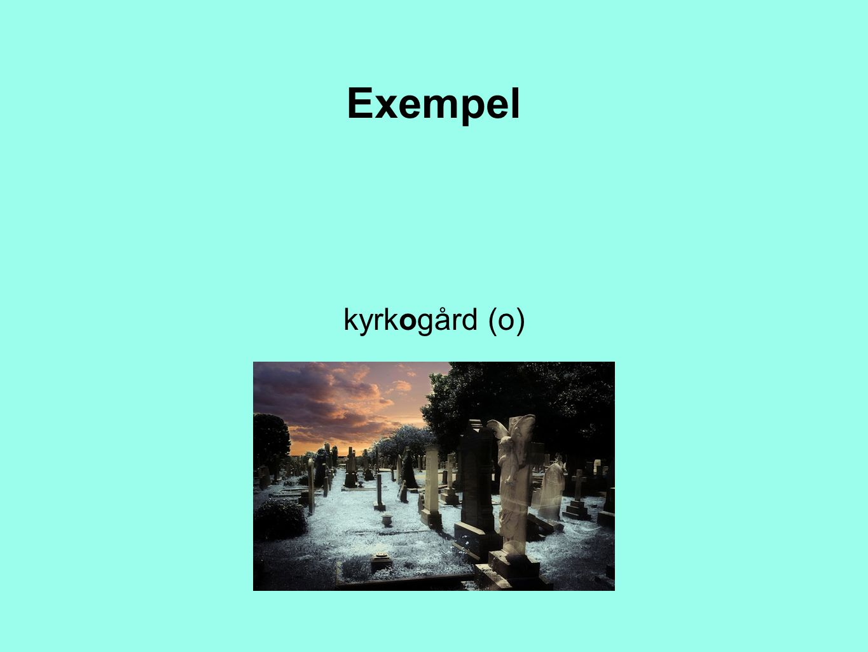 Exempel kyrkogård (o)