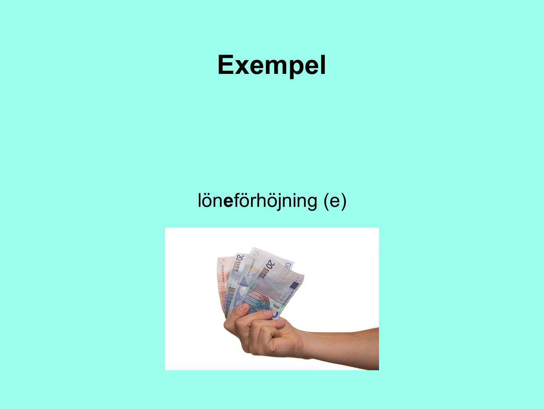 Exempel löneförhöjning (e)