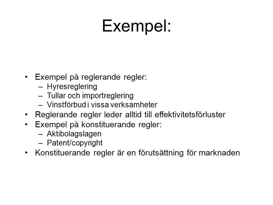 Exemplet copyright 0 2575 100 år 50 Samhällsnytta Privata vinster