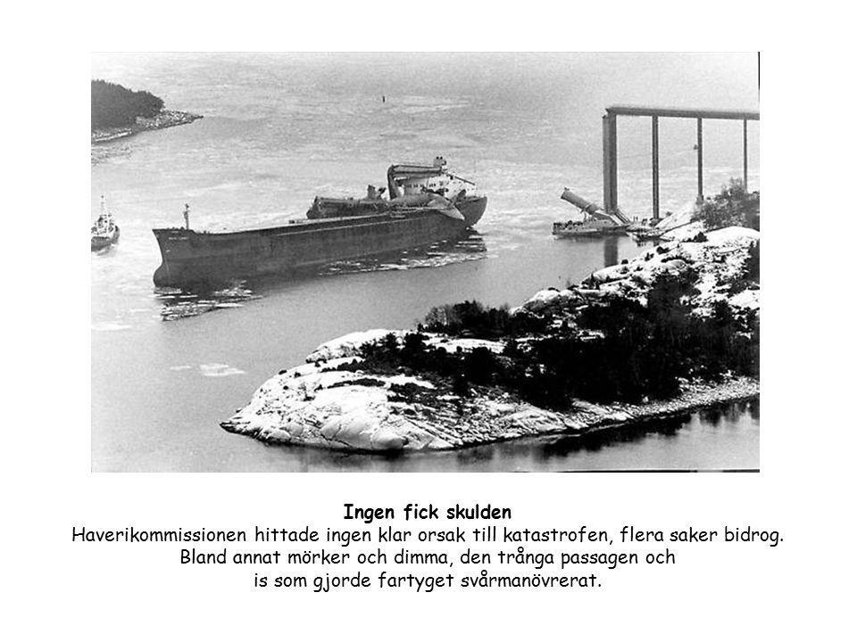 Byggdes rekordsnabbt Den nya bron fick namnet Tjörnbron.