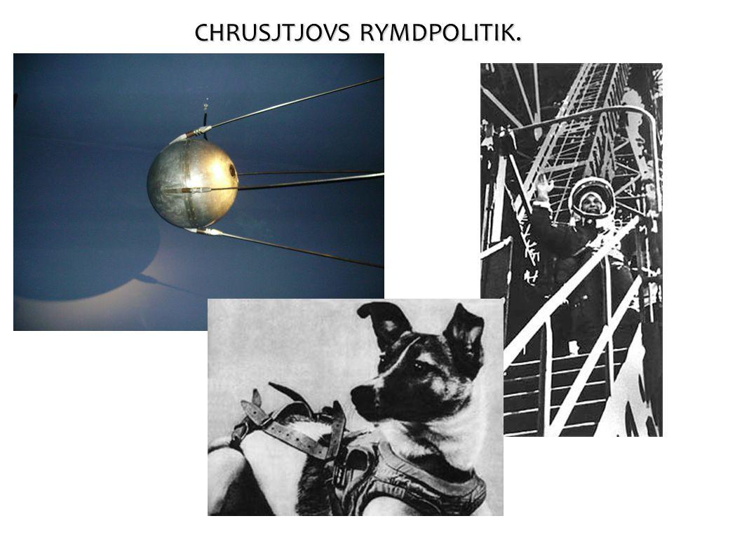 CHRUSJTJOVS RYMDPOLITIK.