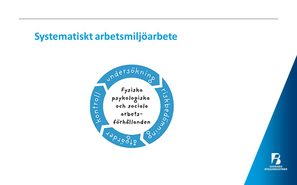 AFS 2001:01 Systematiskt arbetsmiljöarbete