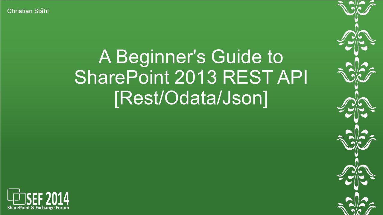REST Presentation XML/JSON är formatet och JavaScript/HTML/CSS är språket för UI och funktionalitet