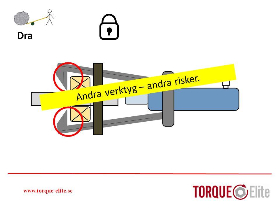 www.torque-elite.se Dra Andra verktyg – andra risker.