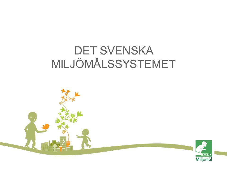 DET SVENSKA MILJÖMÅLSSYSTEMET