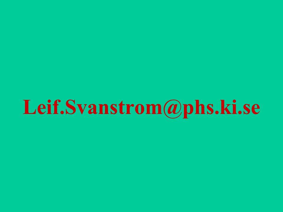 Leif.Svanstrom@phs.ki.se