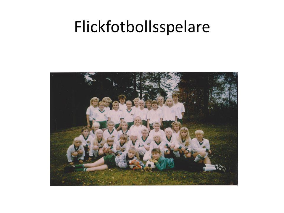 Flickfotbollsspelare