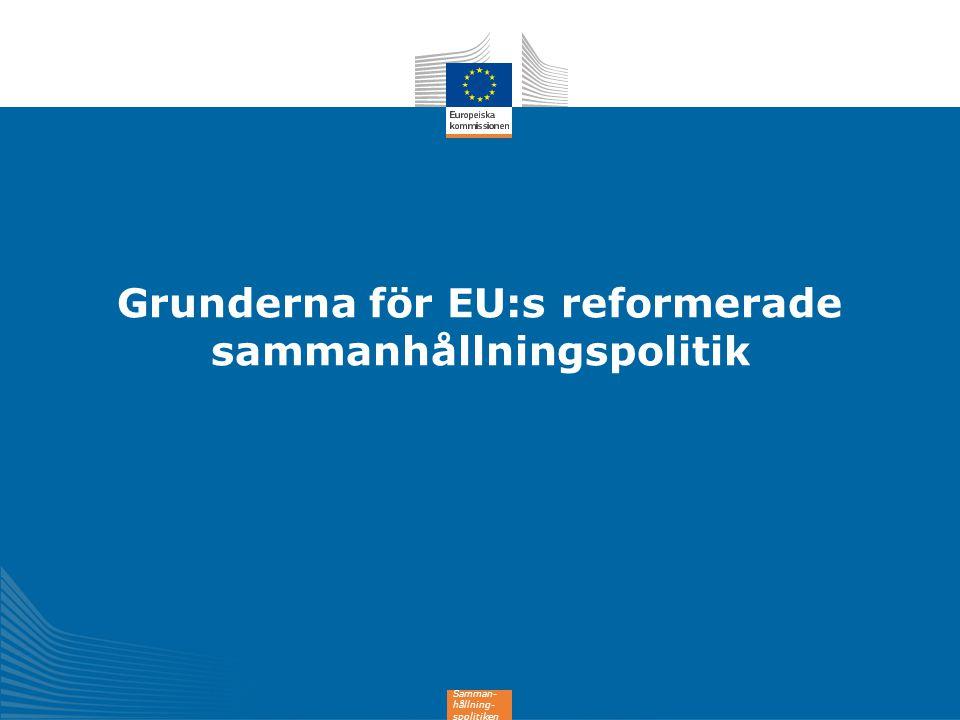 13 Stöd till sammanhållningspolitiken 2014-2020 (351,8 miljarder euro) 182,2 md EUR 35,4 md EUR 54,3 md EUR 10,2 md EUR 0,4 md EUR 3,2 md EUR 63,3 md EUR 1,6 md EUR 1,2 md EUR Mindre utvecklade regioner Övergångsregioner Mer utvecklade regioner Europeiskt territoriellt samarbete Innovativa åtgärder i städer Ungdomssysselsättningsinitiativet (tillägg) Sammanhållningsfonden Särskild tilldelning till yttersta randområden och glest befolkade regioner Tekniskt stöd