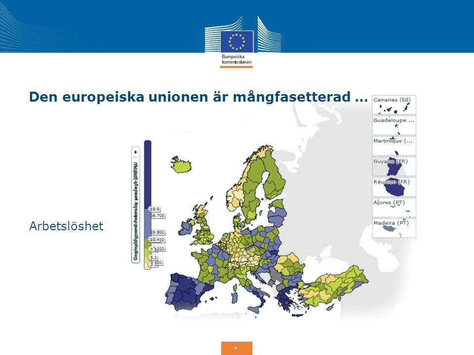 5 Den europeiska unionen är mångfasetterad … Högre utbildning