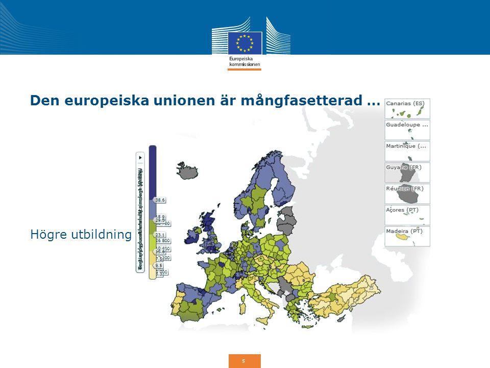 26 Tematisk koncentration för ESF 20% av ESF-resurserna i respektive medlemsstat går till social inkludering samt bekämpning av fattigdom och alla former av diskriminering.