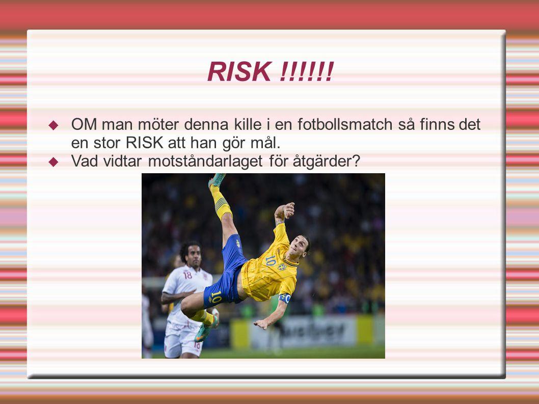Risk Åtgärd