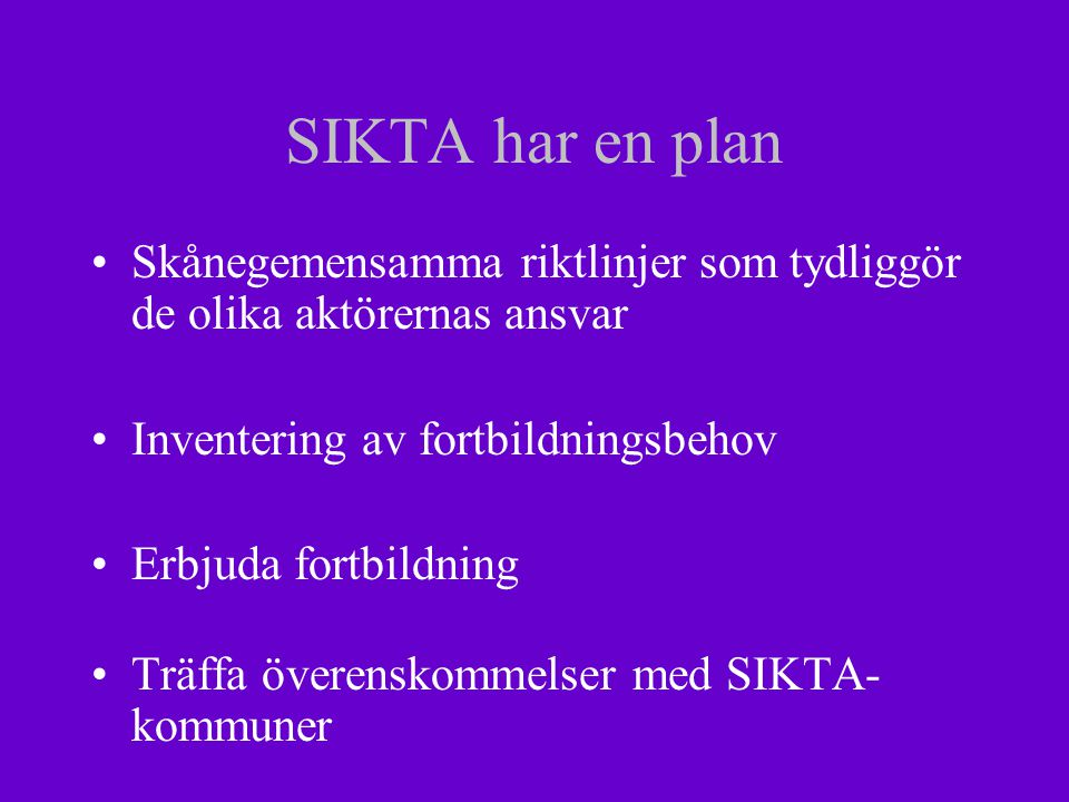 Skånegemensamma riktlinjer Vård och behandlingen för personer med missbruks- och beroendeproblem utgör ett gemensamt ansvar och uppdrag för både kommunernas socialtjänst och landstingets hälso- och sjukvård.