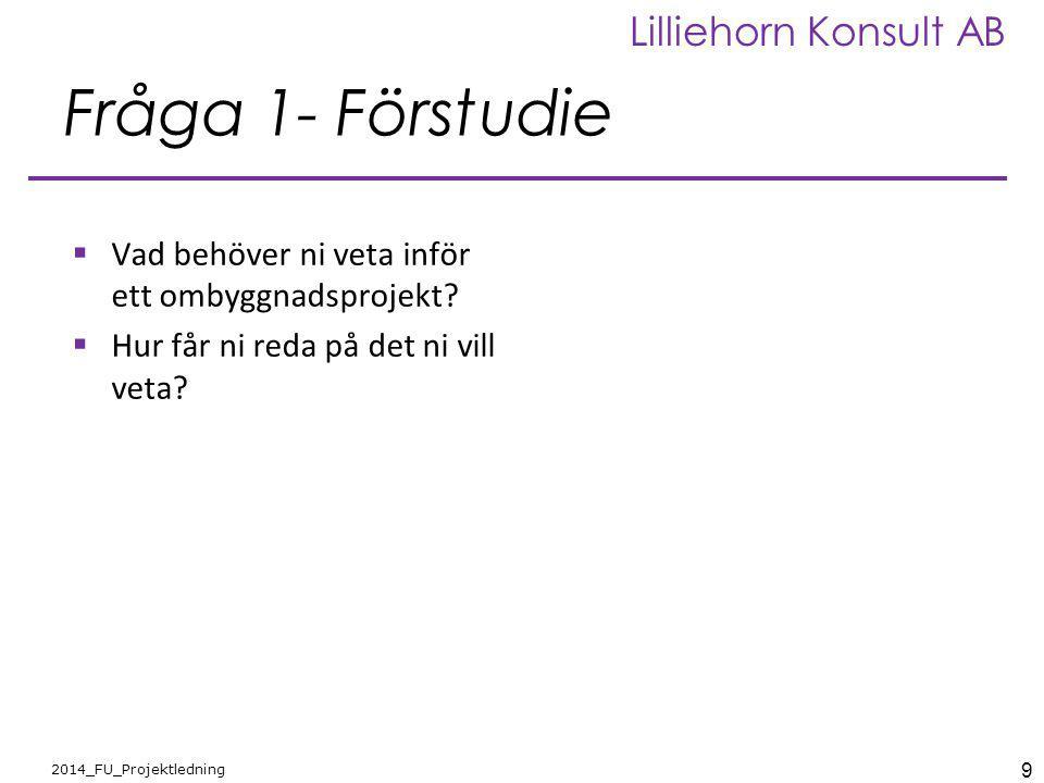 30 2012_FU_BBR Lilliehorn Konsult AB Genomförande