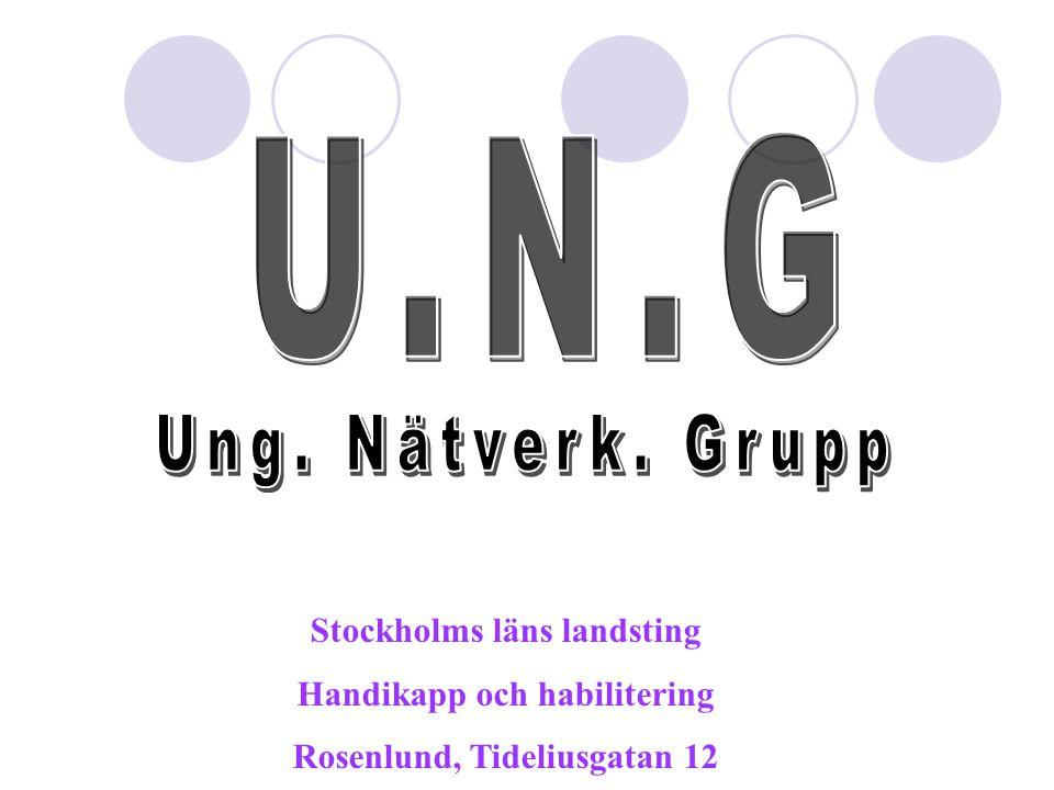 Stockholms läns landsting Handikapp och habilitering Rosenlund, Tideliusgatan 12