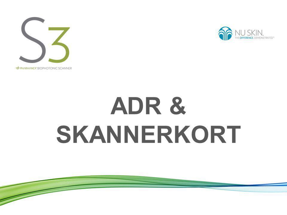 ADR & SKANNERKORT