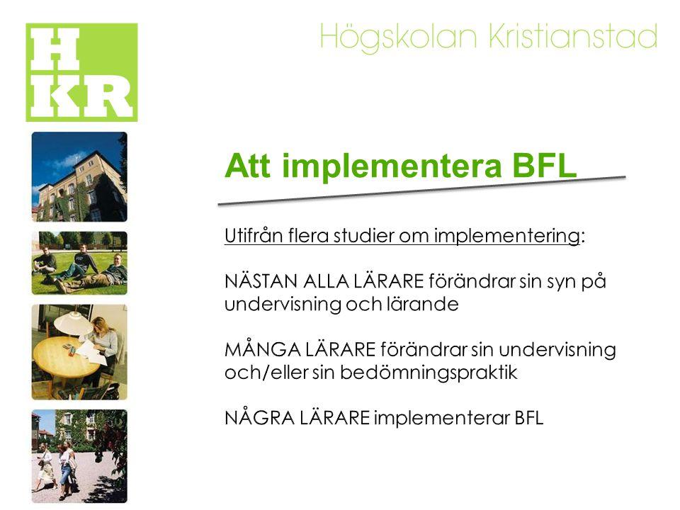 Att implementera BFL