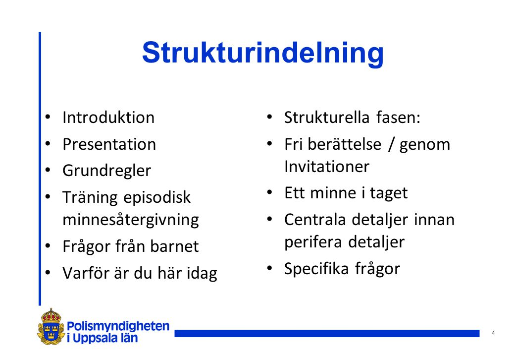 5 Strukturindelning forts...