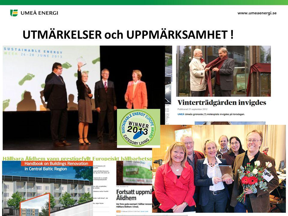 2015-03-21 UTMÄRKELSER och UPPMÄRKSAMHET !