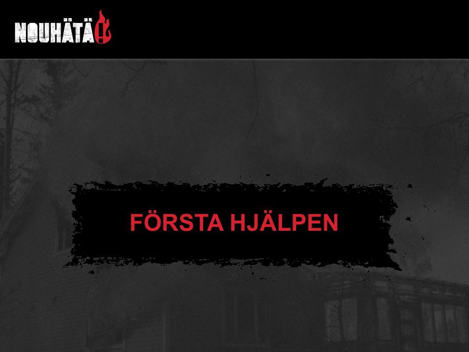 FÖRSTA HJÄLPEN