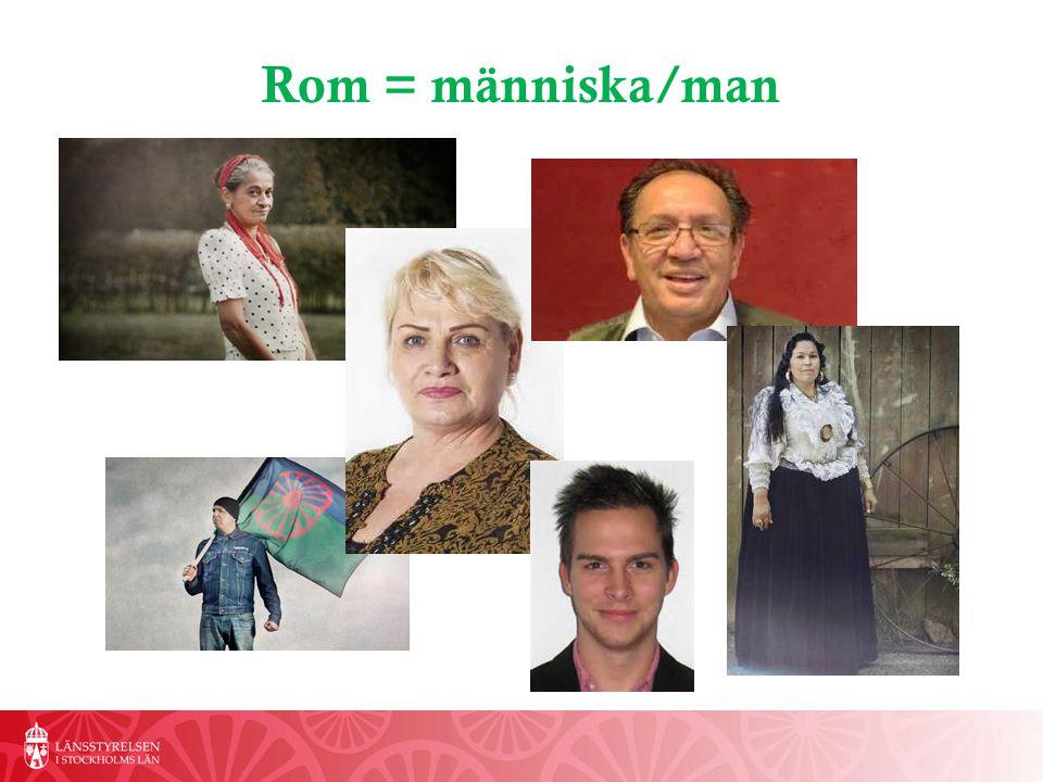 Rom = människa/man