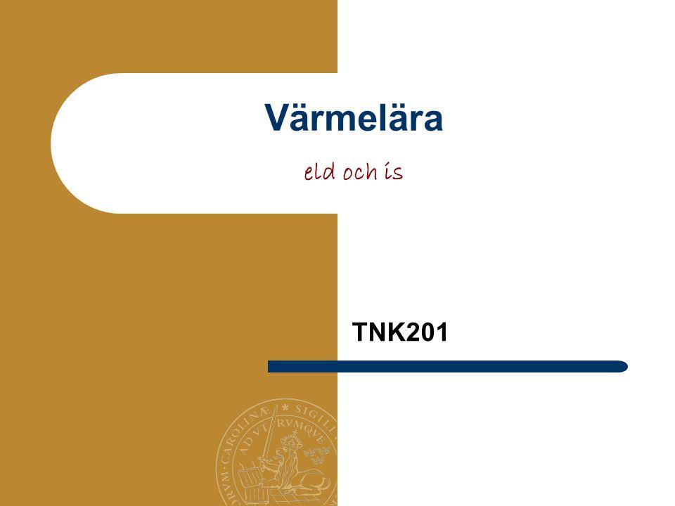 Värmelära eld och is TNK201