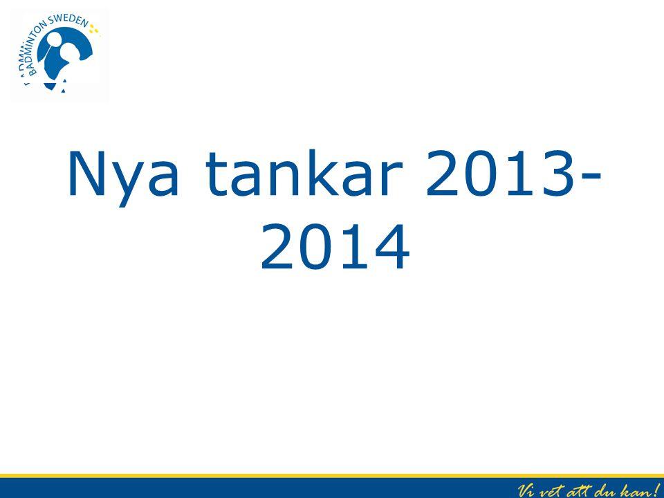 Nya tankar 2013- 2014