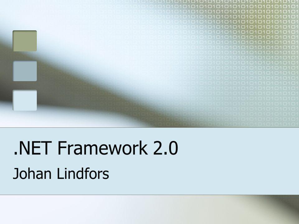 Johan Lindfors.NET Framework 2.0