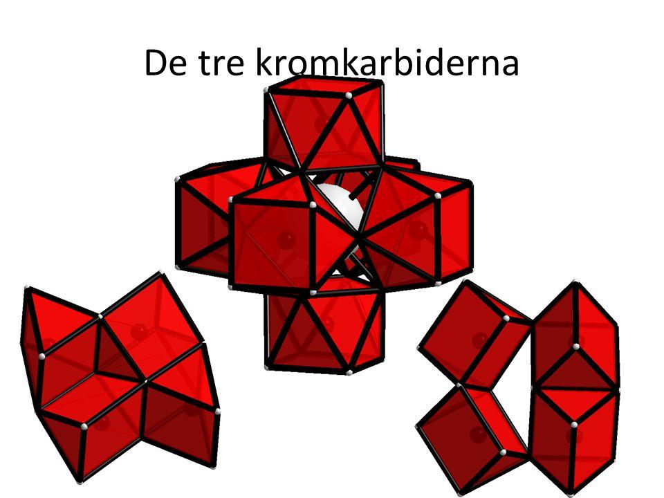 De tre kromkarbiderna