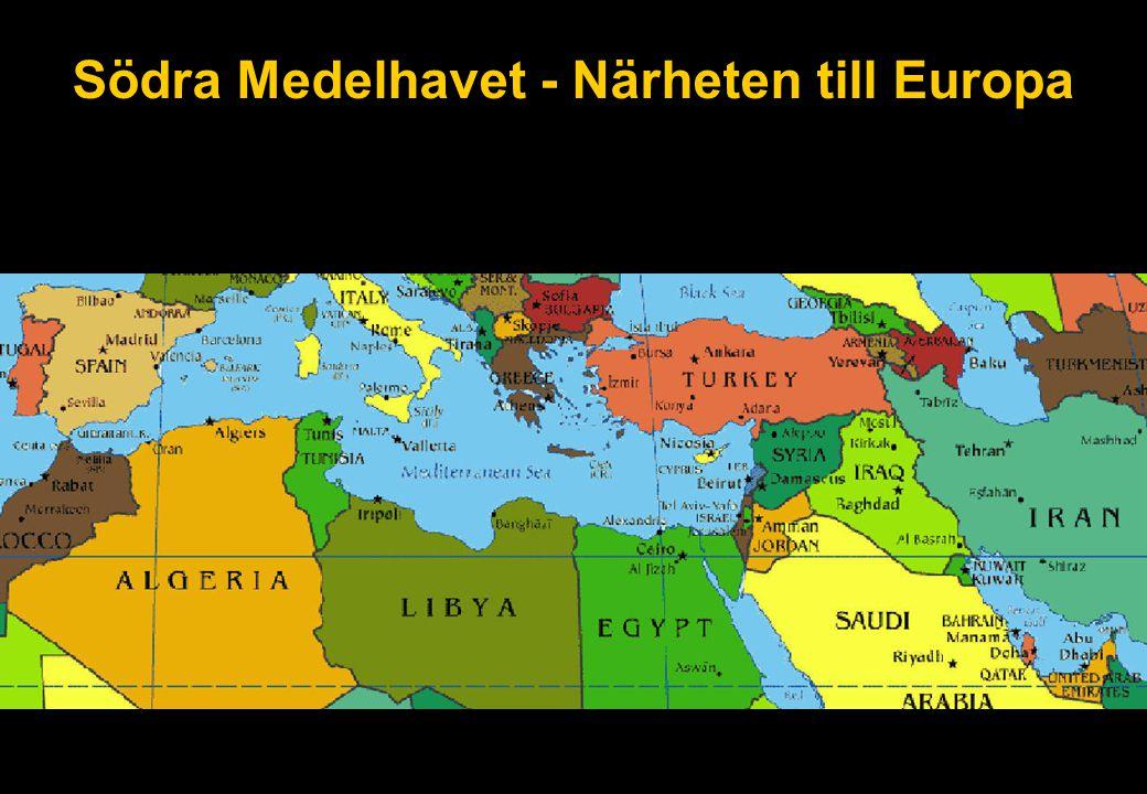 Södra Medelhavet - Närheten till Europa